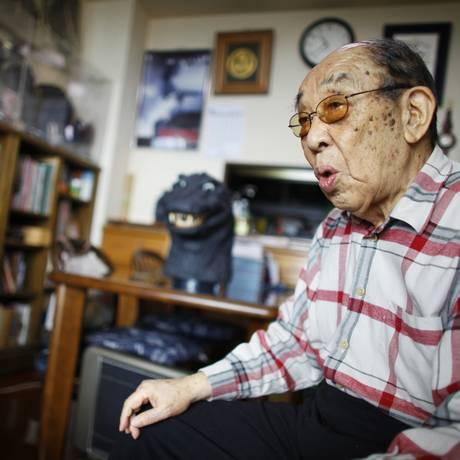 O ator Haruo Nakajima Foto: Junji Kurokawa / AP