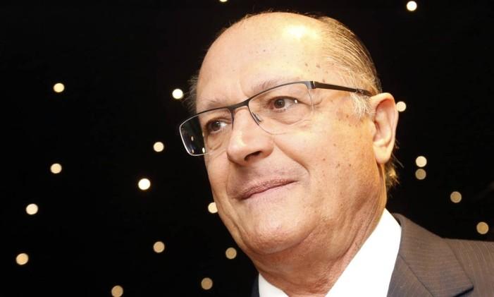 Geraldo Alckmin, governador de São Paulo Foto: Edilson Dantas / Agência O Globo