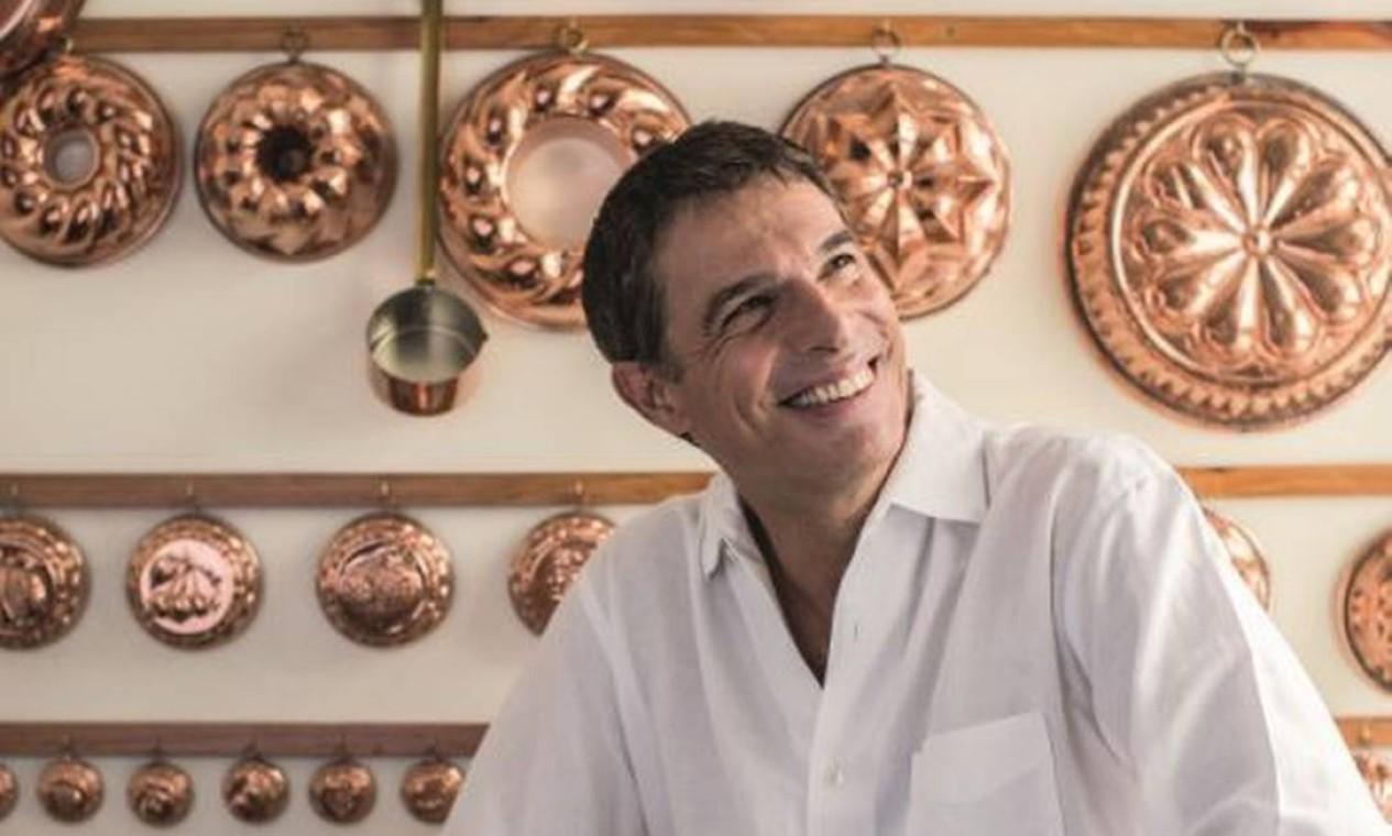"""No dia 13, O chef Olivier Anquier também ira dividir suas receitas de família na aula """"Os segredos gastronômicos de Olivier"""", às 13h45m, no auditório do Senac Foto: Divulgação / Divulgação"""