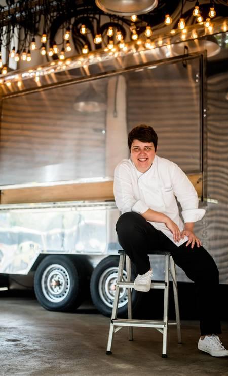 """A renomada chef Roberta Sudbrack vai falar sobre as receitas de sua cozinha afeitiva do restaurante Da Roberta na aula """"Cozinha afetiva"""", às 16h30m, no auditório Senac, no dia 11 Foto: Divulgação / Divulgação"""