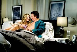 Cena de 'Sex and the city': estudo resolveu investigar sono entre casais Foto: Reprodução