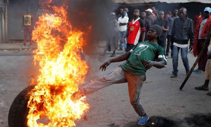 Ao menos 9 mortos em protestos após eleição presidencial