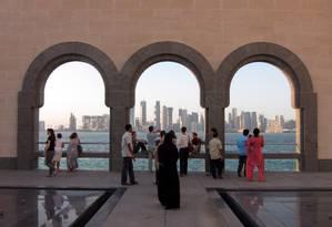 Museu de arte Islâmica, em Doha, no Qatar. Foto: Marcelo Carnaval / Agência O Globo
