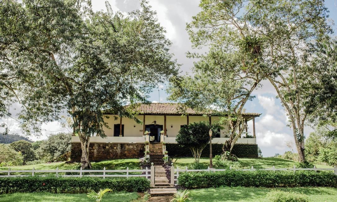 Casa sede da fazenda Provisão, que tem plantação de cacau e visita guiada AnaLee/Festival Internacional do Chocolate e Cacau/Divulgação