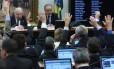 Reunião da comissão da reforma política, na Câmara