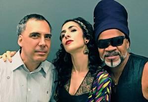 Arnaldo Antunes, Marisa Monte e Carlinhos Brown: juntos, eles formam os Tribalistas Foto: Facebook / Reprodução