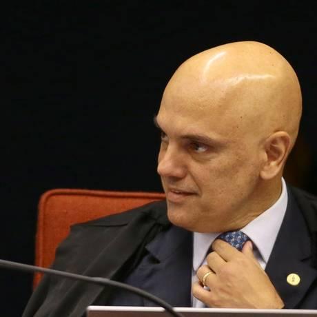 O ministro Alexandre de Moraes, do Supremo Tribunal Federal Foto: Jorge William / Agência O Globo