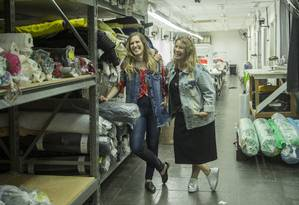Layla (esquerda) e Ester Feldman, proprietárias da Afghan Foto: Analice Paron / Agência O Globo