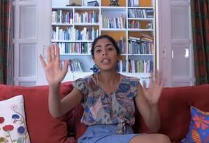 Bela postou vídeo sobre o tema em seu canal no youtube Foto: Reprodução da internet / Reprodução internet