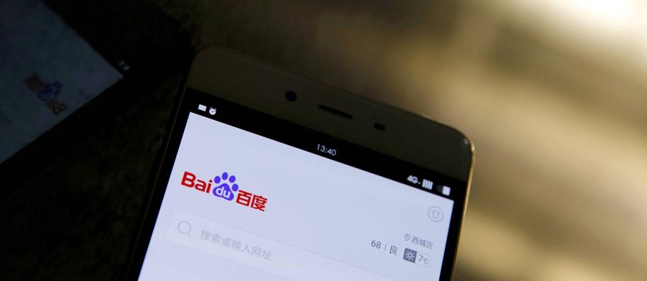 A Baidu afirmou que teria cooperado com o governo chinês, se soclitado Foto: Damir Sagolj / REUTERS