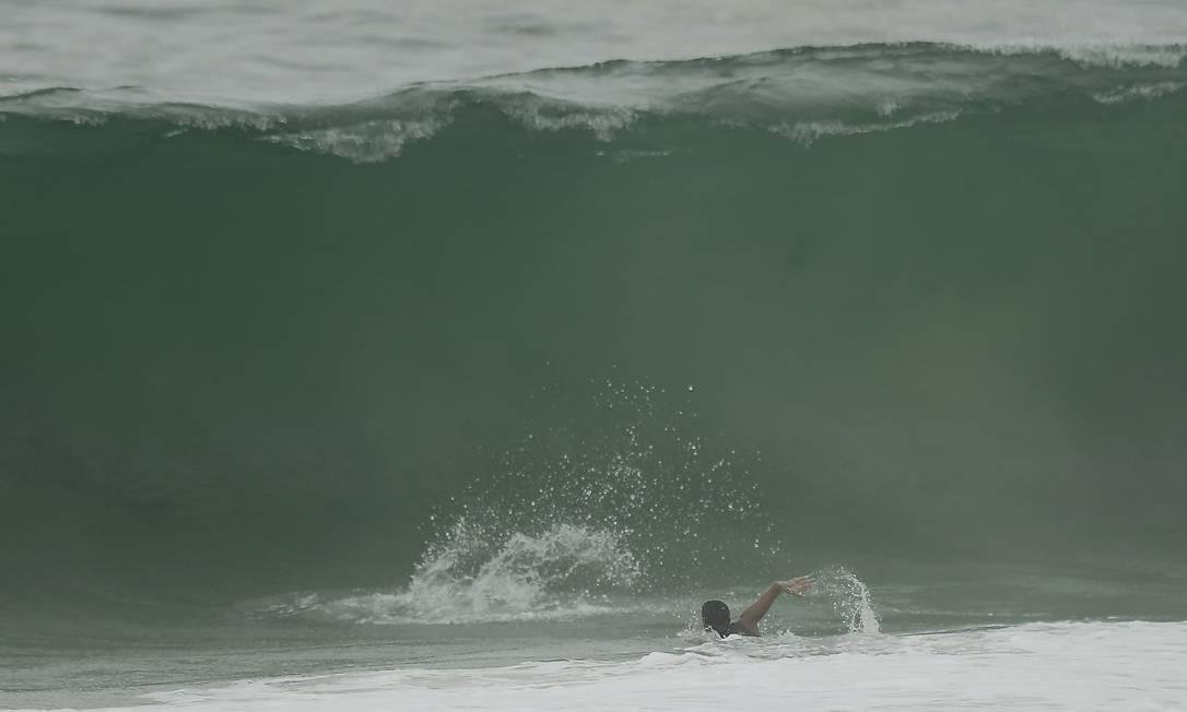 Posto 5 de Copacabana, na Zona Sul, foi um dos lugares escolhidos Gabriel de Paiva / Agência O Globo