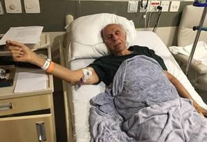 O ex-médico Roger Abdelmassih está internado no Hospital Albert Einstein, em São Paulo Foto: Arquivo Pessoal