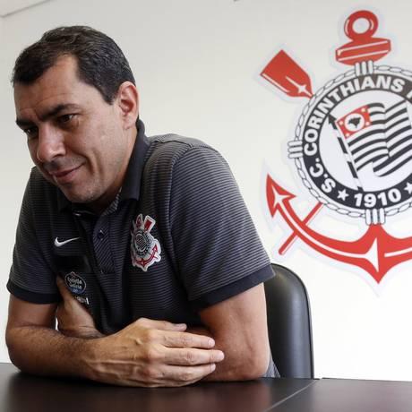 Fábio Carille não é mais técnico do Corinthians Foto: Edilson Dantas / Agência O Globo