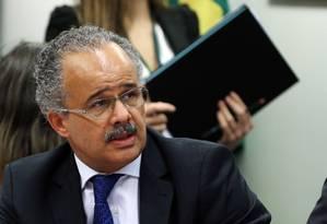 O deputado Vicente Cândido (PT-SP), relator da proposta de reforma política na Câmara Foto: Givaldo Barbosa / Agência O Globo