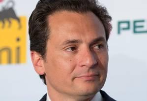 Emilio Lozoya presidiu a empresa de petróleo entre 2012 e 2016 Foto: ROMUALD MEIGNEUX/SIPA / Agência O Globo