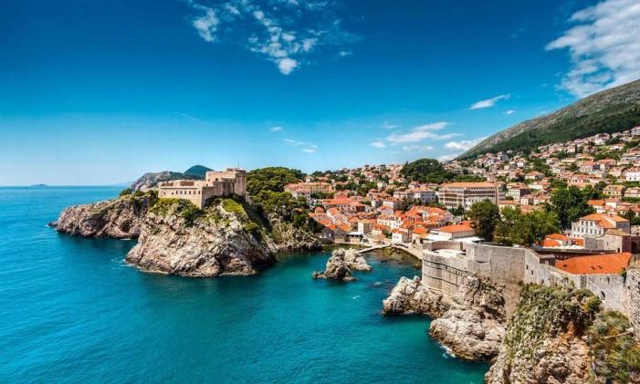 A cidade croata de Dubrovnik Foto: Reprodução Twitter