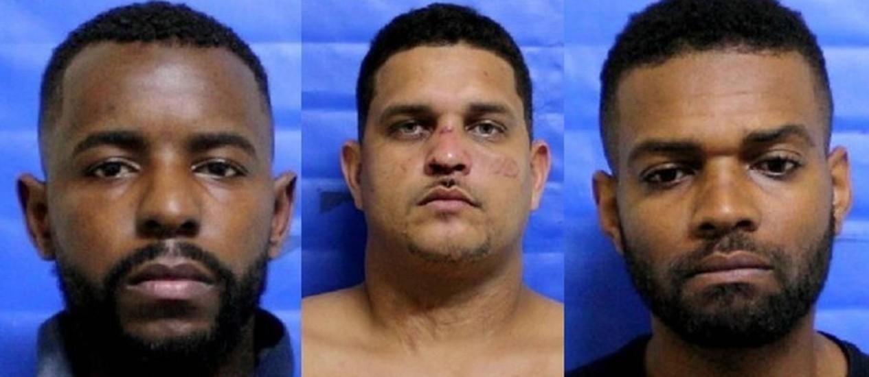 Presos três suspeitos do assassinato de soldado da UPP Foto: Foto / Divulgação