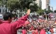 Maduro faz discurso para apoiadores em Caracas