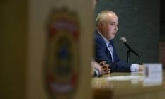 O procurador Carlos Fernando dos Santos Lima durante coletiva de imprensa Foto: Geraldo Bubniak / Agência O Globo/26-05-2017
