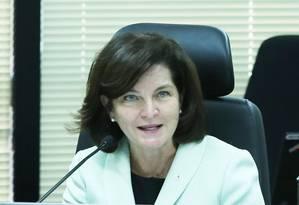 A procuradora Raquel Dodge Foto: Ailton de Freitas / Agência O Globo