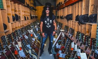 Slash, o primeiro embaixador global das guitarras Gibson Foto: Divulgação