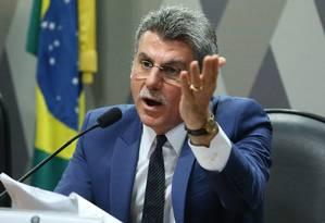 O senador Romero Jucá Foto: Ailton de Freitas / Agência O Globo