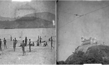 Imagens do Rio de Janeiro dos anos 1920 a 1940 Foto: Reprodução
