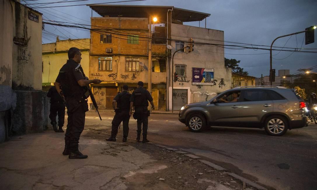Favela do Jacarezinho é uma das 843 áreas do estado dominadas por facções criminosas Foto: Guito Moreto / Agência O Globo