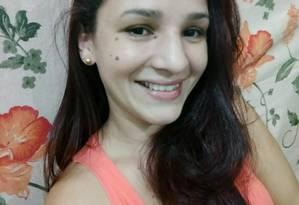 Geisa Feitosa, assassinada na frente das duas filhas Foto: Reprodução