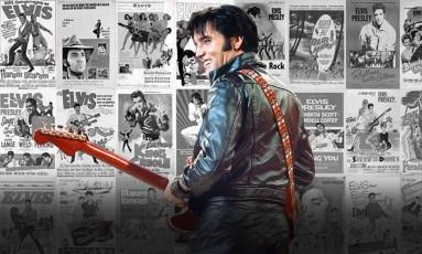 40 anos sem Elvis Foto: Arte O Globo