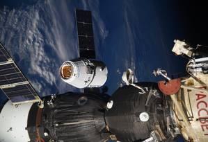 O experimento Spaceborne Computer foi recebido nesta quarta-feira na Estação Espacial Internacional Foto: AP