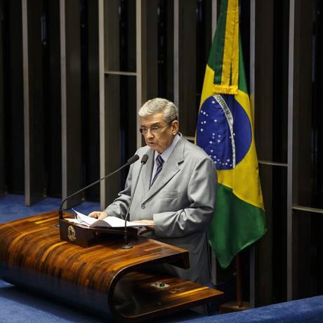 Senador Garibaldi Alves Filho (PMDB-RN) Foto: Daniel Marenco / Agência O Globo