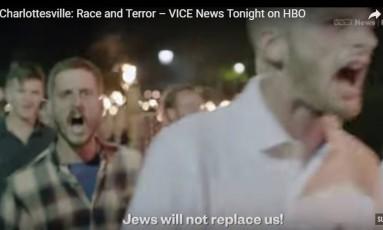 "Documentário: ""Charlottesville: Race and Terror"" Foto: Reprodução YouTube - Vice News Tonight"
