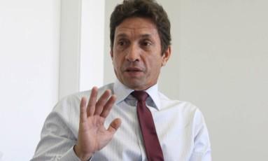 Ex-vice-presidente da Mendes Junior, Sergio Cunha Mendes, foi preso durante 7ª fase da Operação Lava-Jato (27/04/2010) Foto: Givaldo Barbosa / Agência O Globo