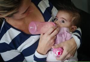Perseverança: família da menina Maya faz campanha para custear tratamento de Atrofia Muscular Espinhal Foto: Marcos Alves