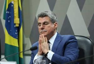 O senador Romero Jucá (PMDB-RR) Foto: Ailton de Freitas / Agência O Globo/21-06-2017
