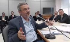 O ex-ministro Antonio Palocci, preso na Lava-Jato, foi condenado a 12 anos e dois meses de prisão (20/04/2017) Foto: Reprodução/JFPR