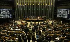 Câmara discute texto principal da reforma política Foto: Ailton de Freitas / Agência O Globo