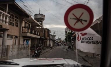 Urban center of Tumaco where MSF has been providing psychosocial care for victims of violence. Foto: Lena Mucha / Lena Mucha/MSF