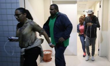 Família de Vinicius Júnior deixa o Jecrim após prestar queixa contra torcedor alvinegro Foto: Marcelo Theobald / Agência O Globo