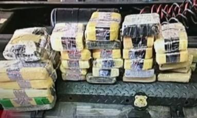 Polícia Federal deflagrou operação em SP e MS para combater tráfico de drogas Foto: Reprodução/Globonews