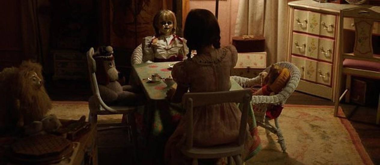 Cena do filme 'Annabelle 2: a criação do mal' Foto: Divulgação