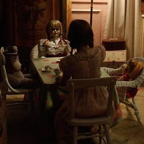 Cena do filme 'Annabelle 2: a criação do mal' Foto: Divuilgação