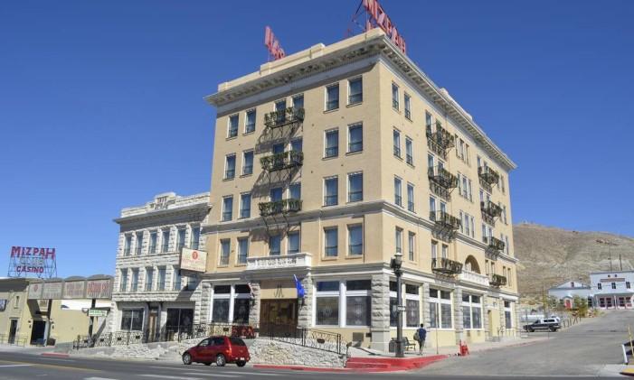 Mizpah Hotel, em Tonopah, Nevada Foto: Cristina Massari / O Globo