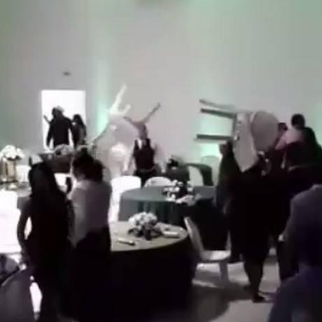 Festa de formatura em São Luis terminou em confusão Foto: YouTube/Reprodução