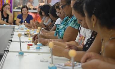 Evento tem o objetivo de capacitar novos artesãos Foto: Divulgação
