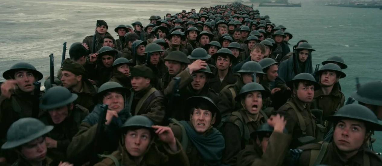 Cena do filme 'Dunkirk' Foto: Divulgação