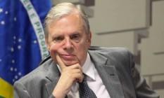 O Senador Tasso Jereissati, presidente interino do PSDB Foto: ANDRE COELHO / Agência O Globo