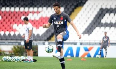 Anderson Martins estreia pelo Vasco no domingo Foto: Paulo Fernandes/Vasco.com.br
