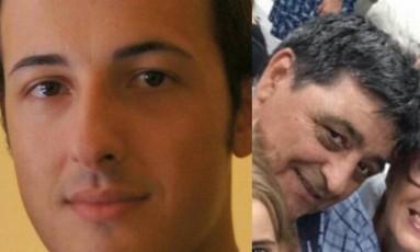 Italiano e espanhola tiveram a morte confirmada Foto: Reprodução/Facebook/Twitter